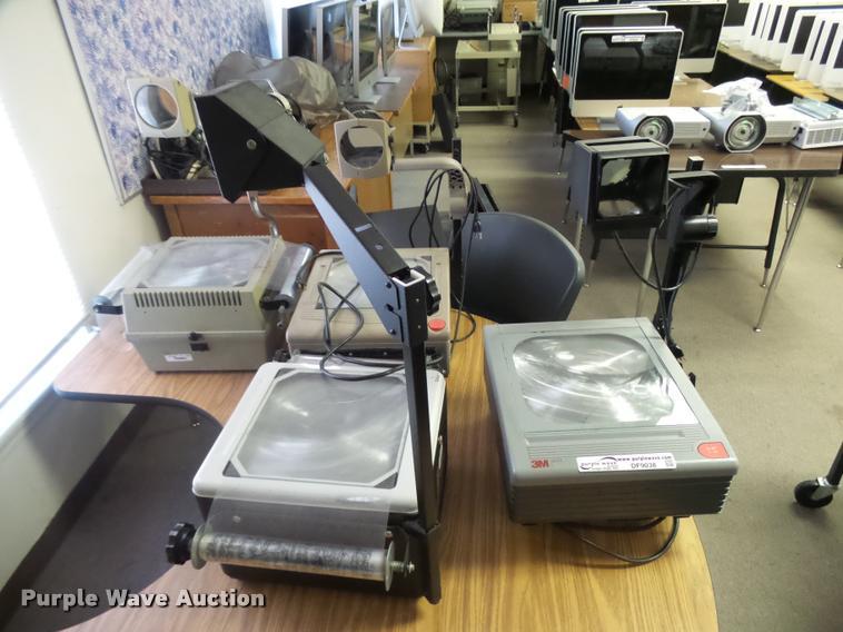 (5) overhead projectors