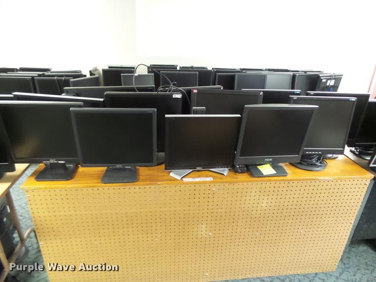 (12) computer monitors