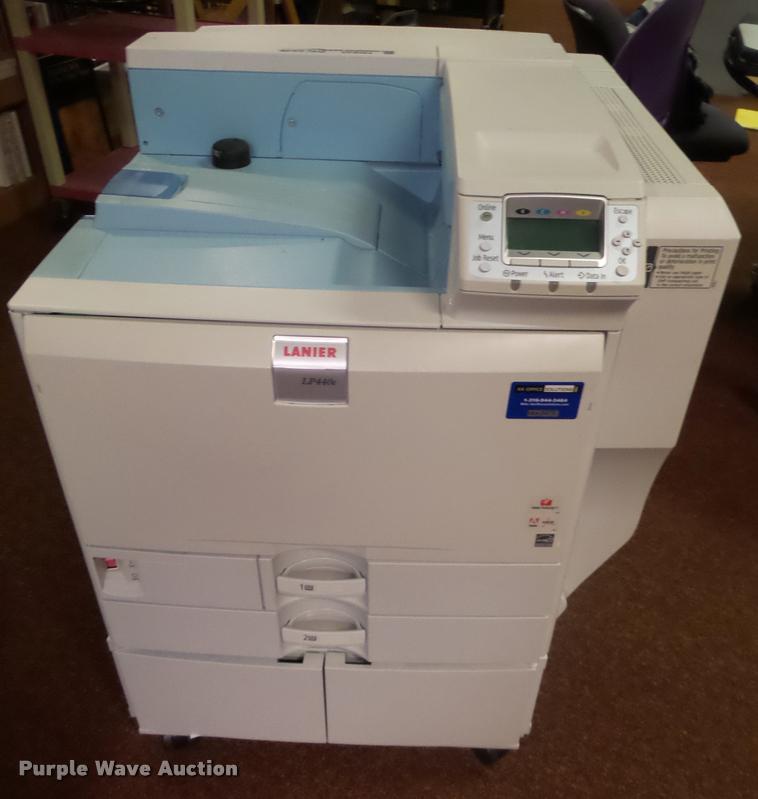 (2) Lanier LP440c color copy machines