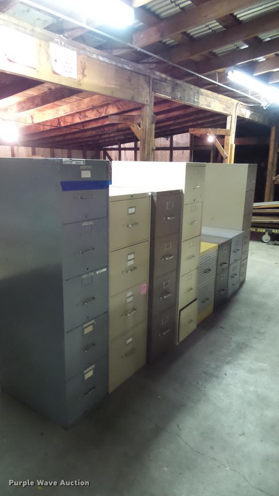 (8) filing cabinets