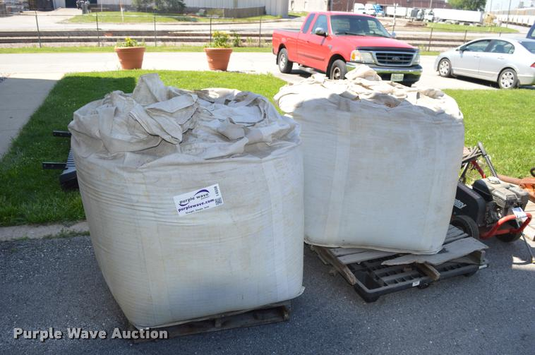 (2) bags of anthracite