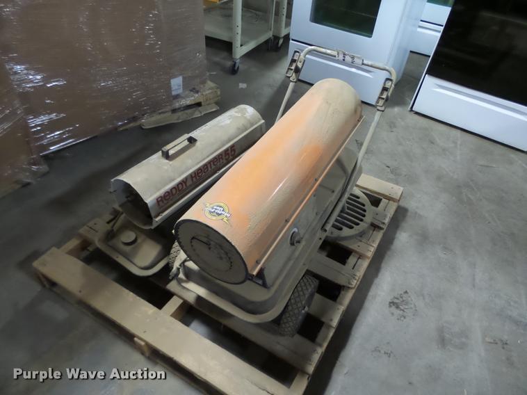 (2) torpedo heaters