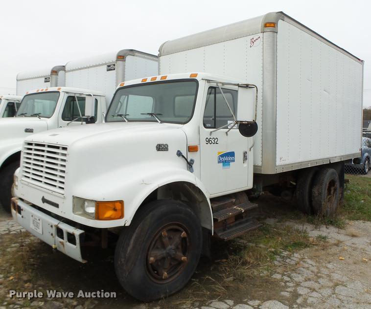 1996 International 4700 box truck