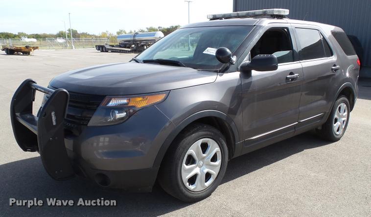 2014 Ford Explorer Police Interceptor Utility SUV