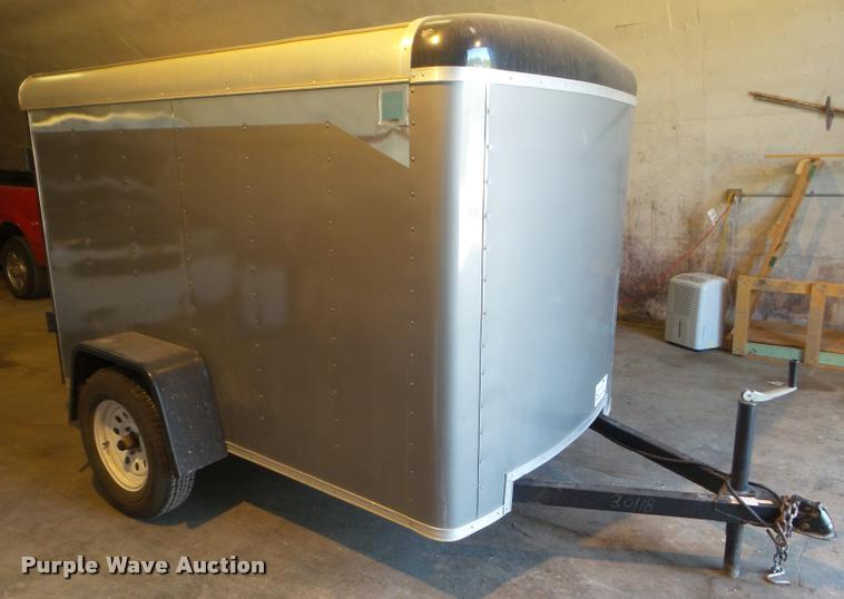 1995 Pace F585A enclosed cargo trailer