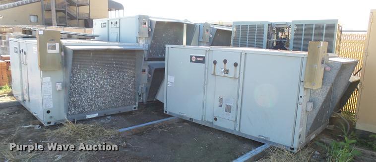 (8) Trane roof top AC units