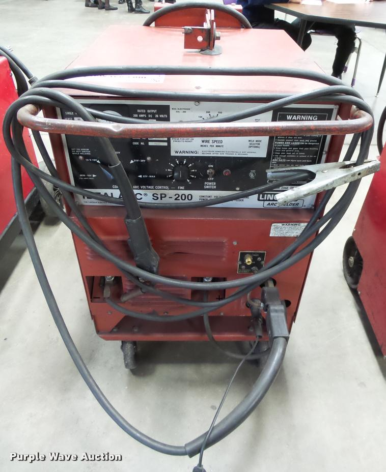 Lincoln Idealarc SP200 welder