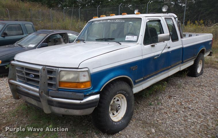 1995 Ford F150 SuperCab pickup truck