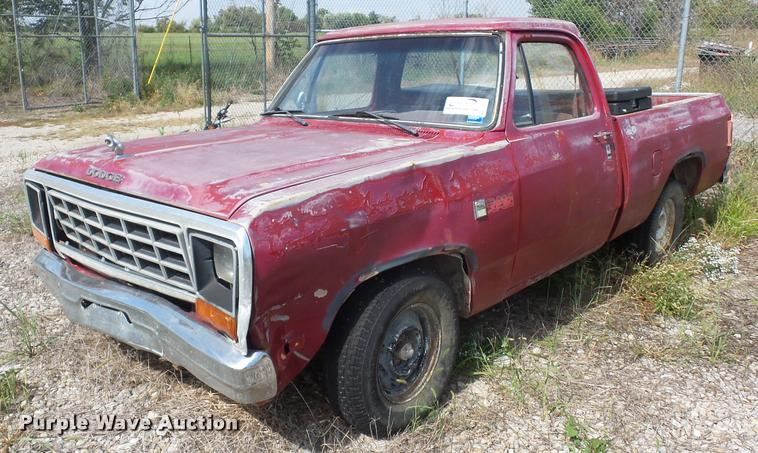 1983 Dodge D150 pickup truck