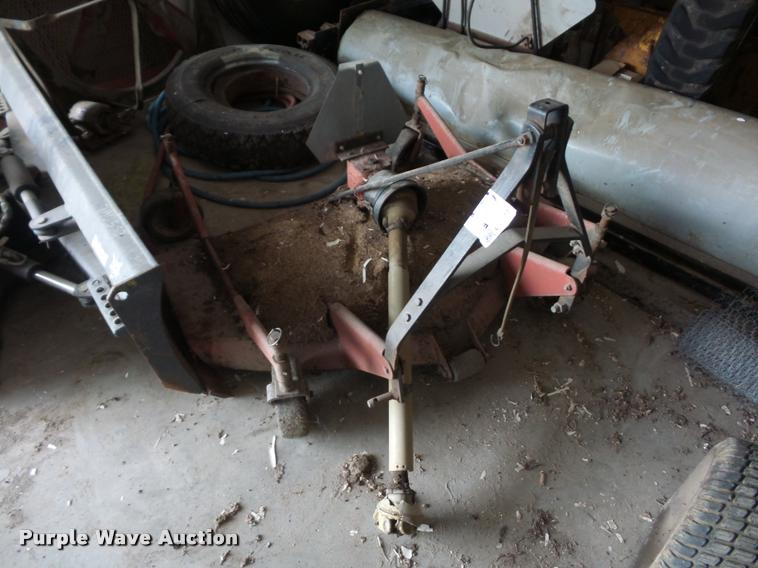 Finish mower