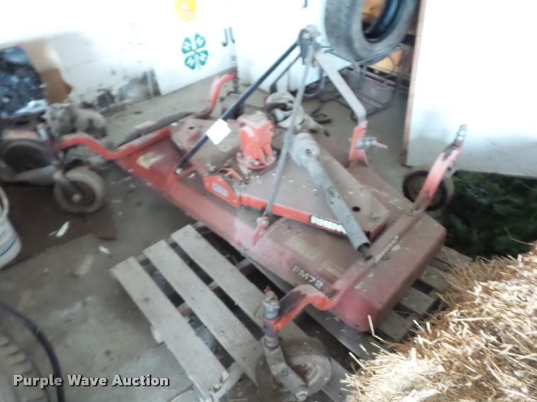 Rhino FM72 finish mower
