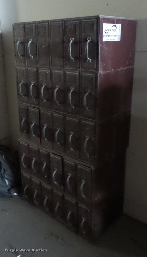 (3) file cabinets