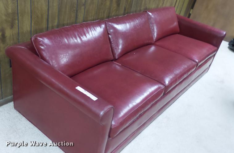 (3) leather couches
