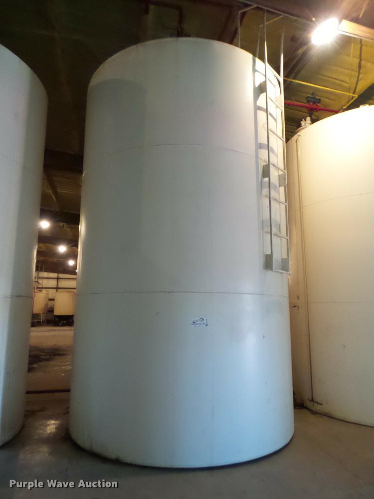 We-Mac steel tank