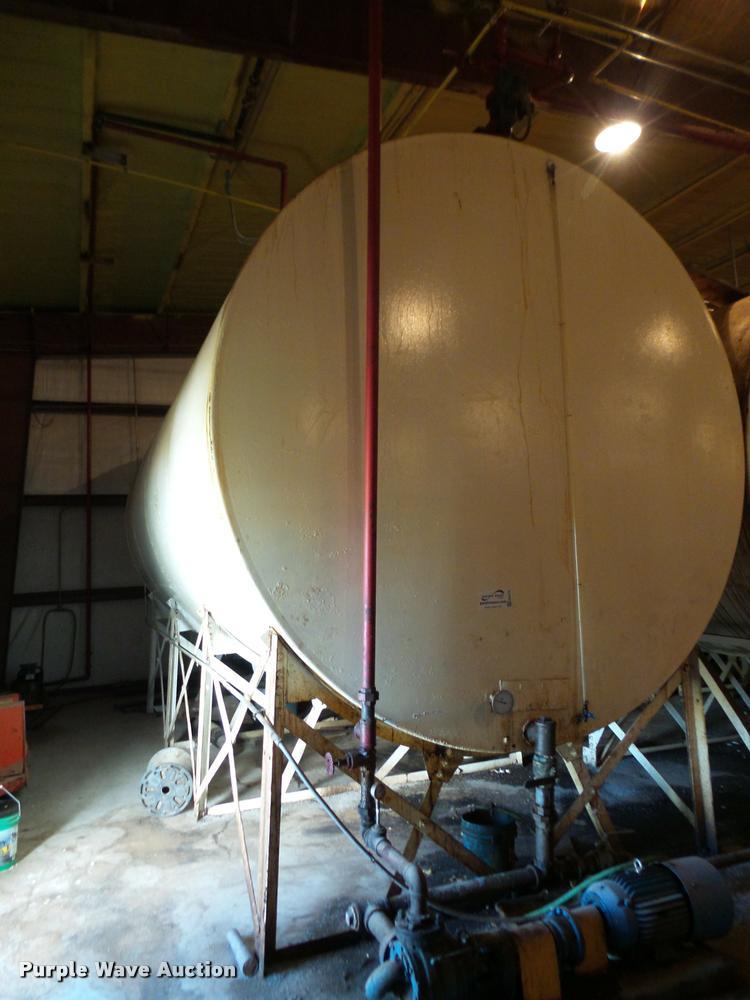 Butler steel tank