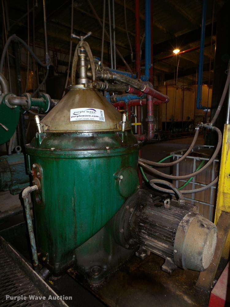 Delaval centrifuge