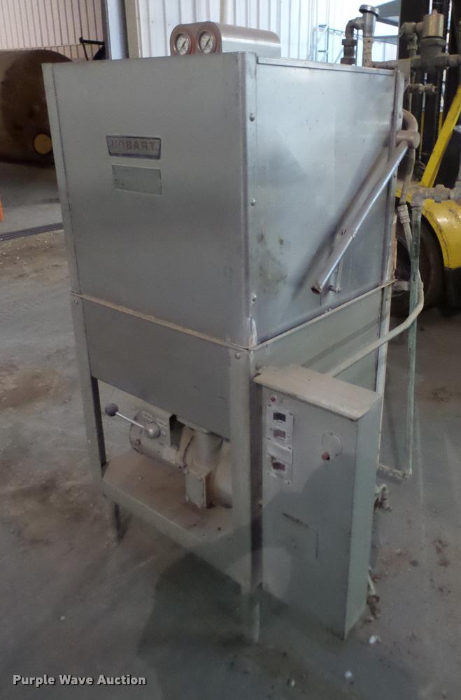 Hobart AM-8T3 commercial dishwasher