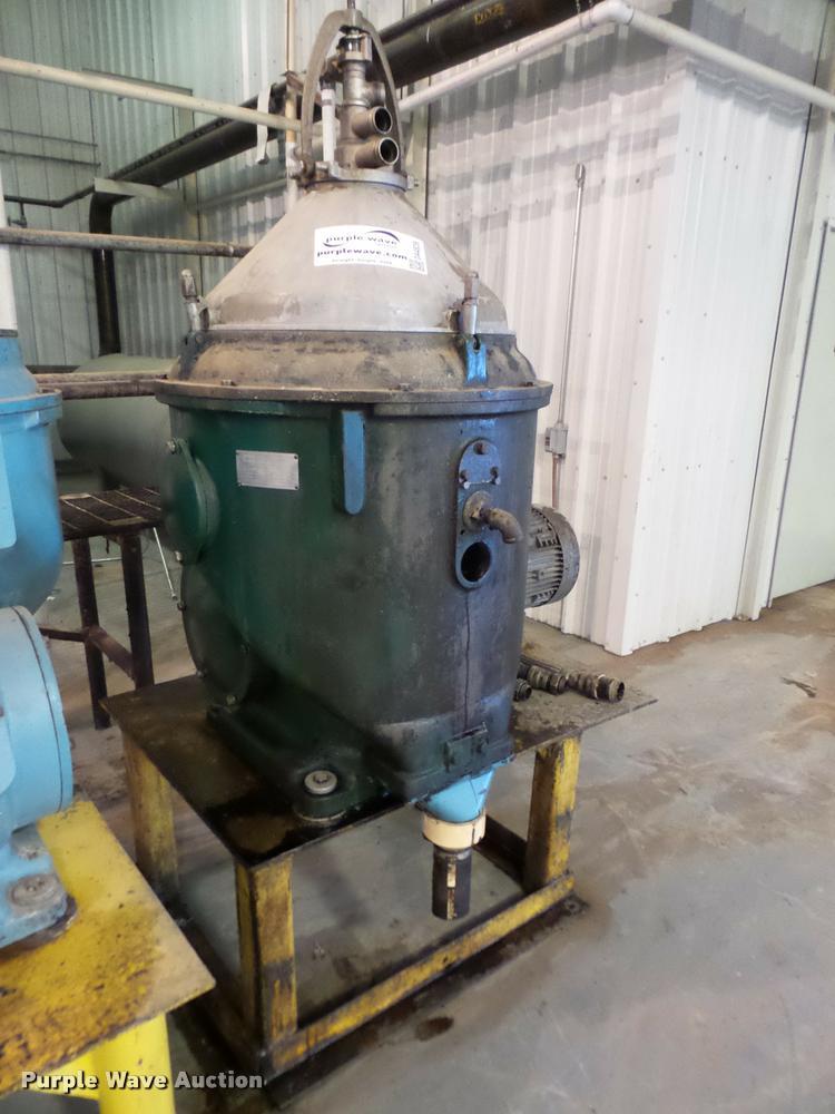 Alfa-lava centrifuge