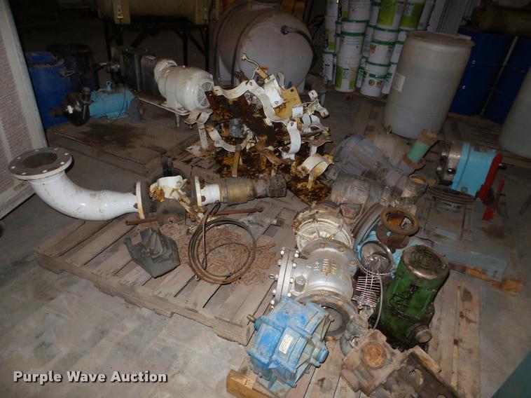 Pumps and electric motors