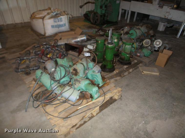 Electric motors and pipes