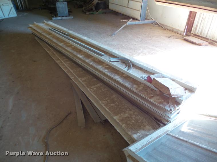 Garage door panels and springs
