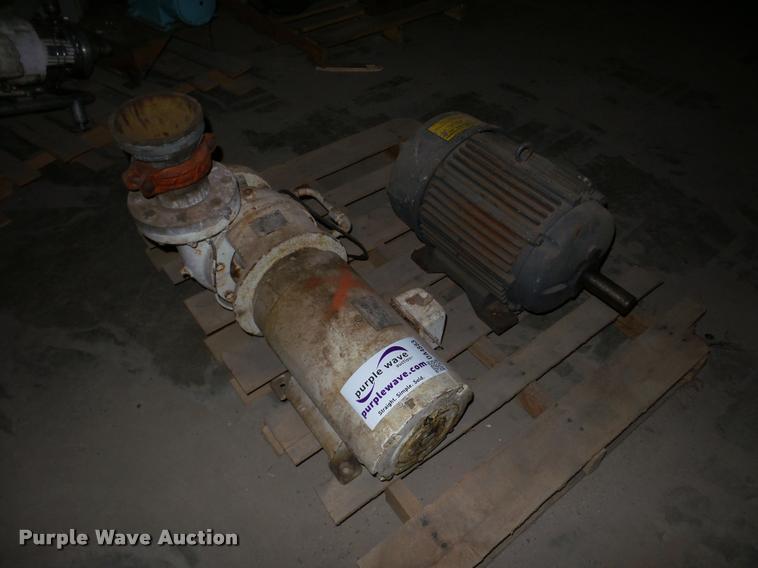 Electric motors and pump
