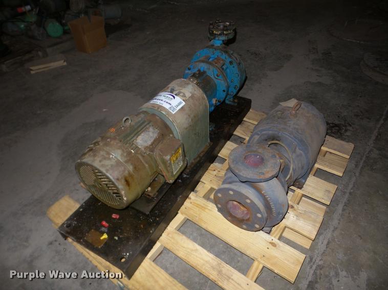 Electric motors and pumps