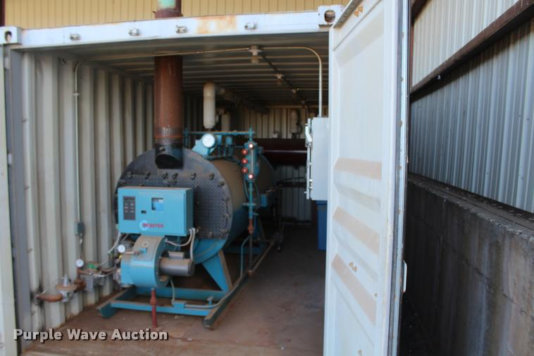 Industrial Boiler Company Inc. boiler with container