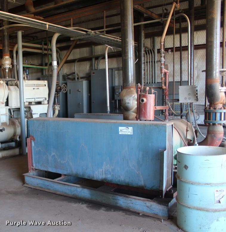 Multiple unit compressor unit assembly