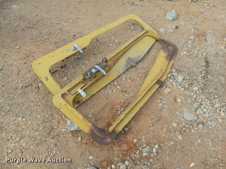(2) Galion motor grader doors