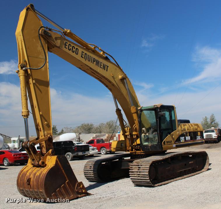 2005 Caterpillar 330C L excavator