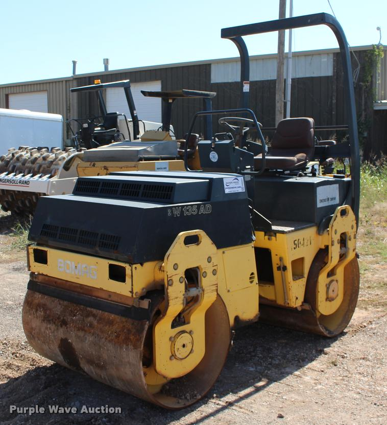 1998 Bomag BW135AD double drum vibratory roller