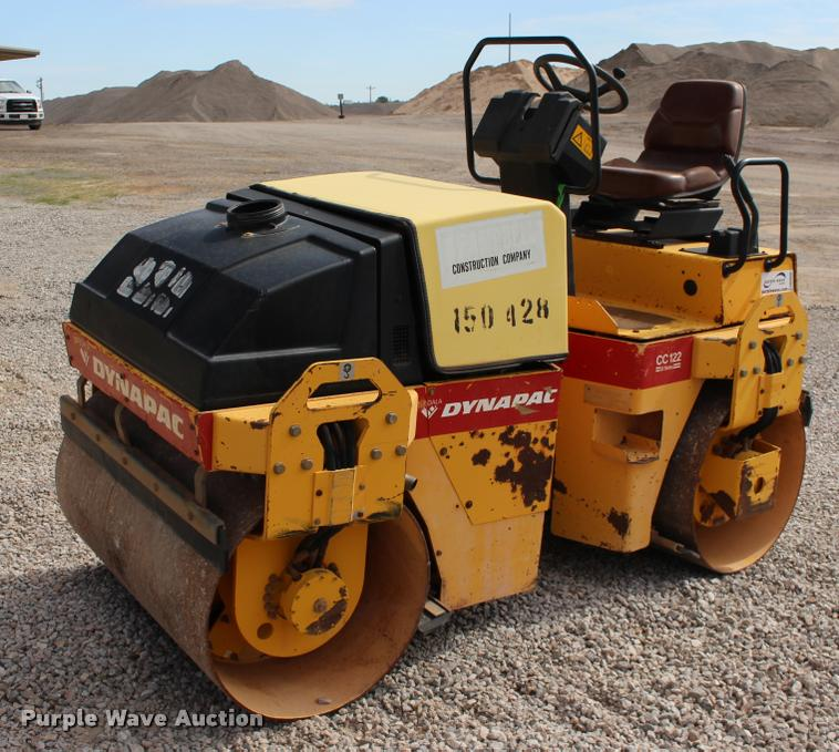 1998 Dynapac CC122 12 Series double drum vibratory roller