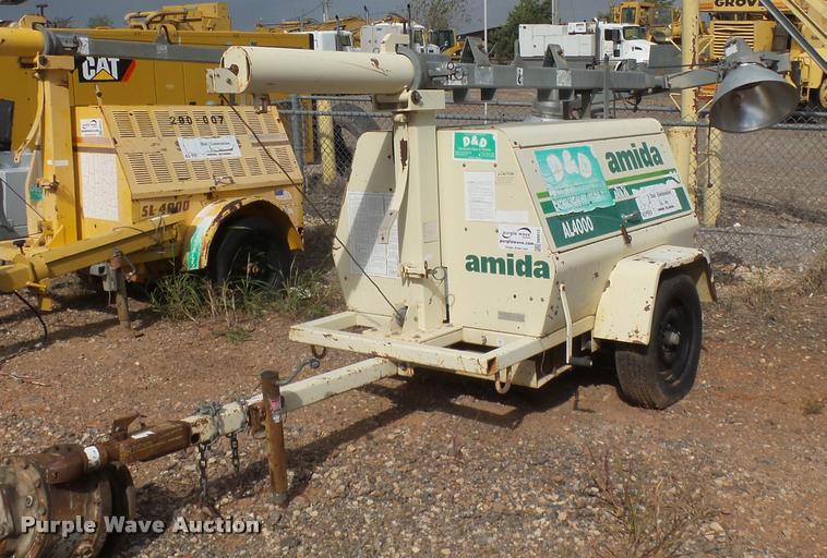 1999 Amida AL4000 light plant