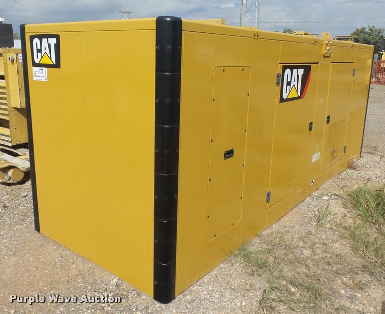 Caterpillar generator set enclosure