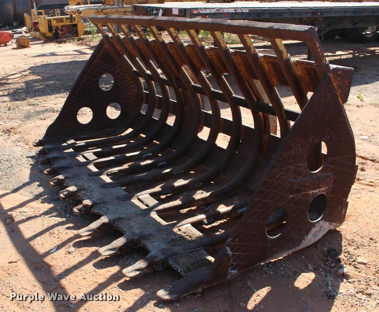 Fleco skeleton wheel loader bucket