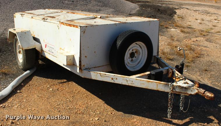 Shop built tool trailer
