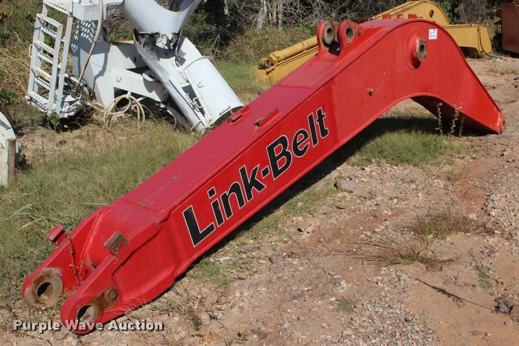 Link-Belt 210 excavator boom