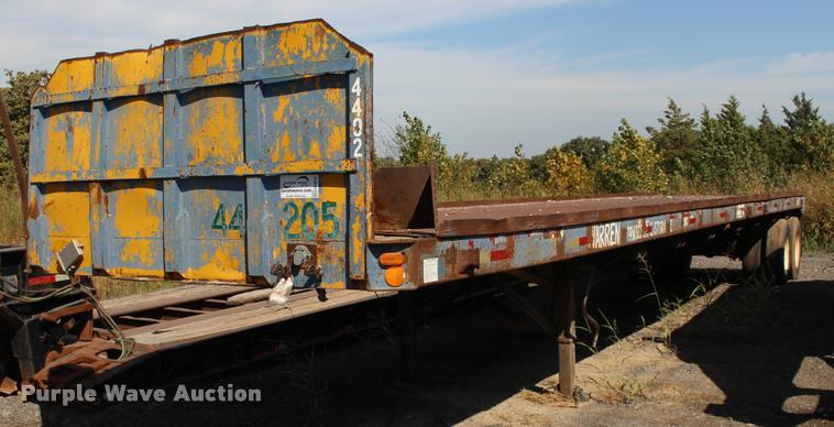 1980 Great Dane flatbed trailer