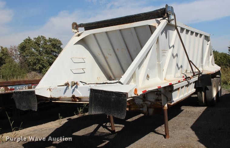 1979 General bottom dump trailer