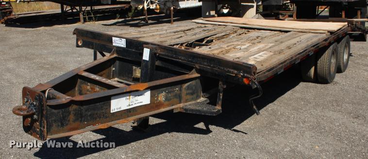 2000 CTC equipment trailer
