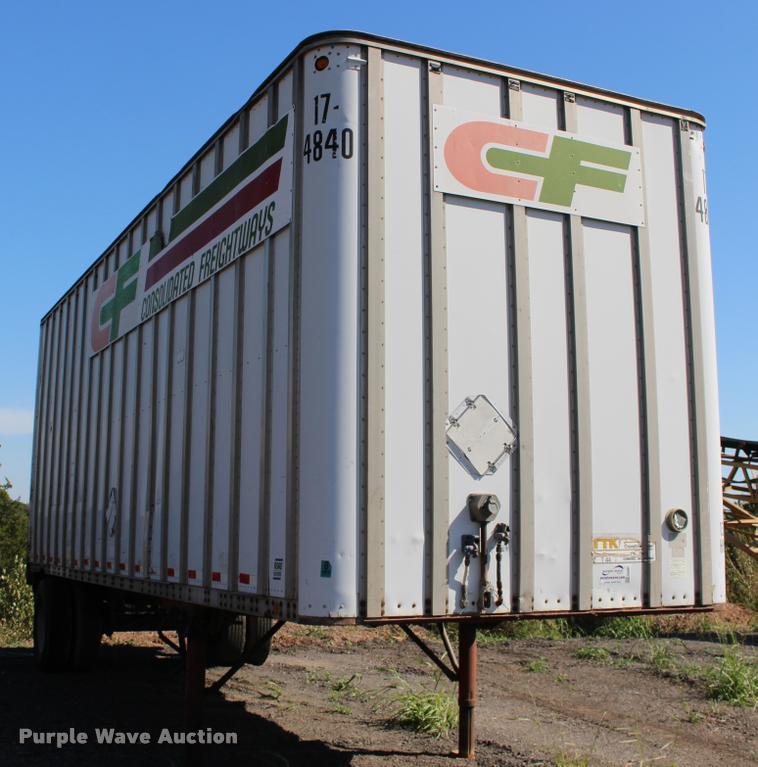 1988 Road Systems dry van trailer