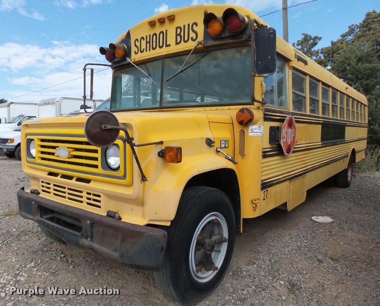 1985 Chevrolet 60 school bus