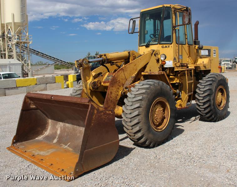 1985 Caterpillar 936 wheel loader