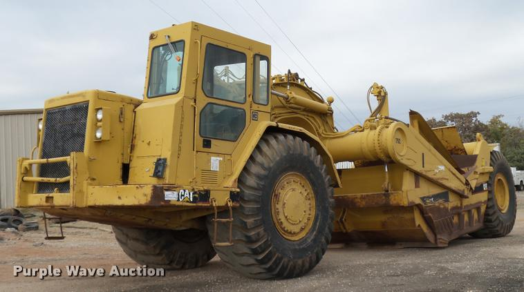 1987 Caterpillar 631E conventional scraper