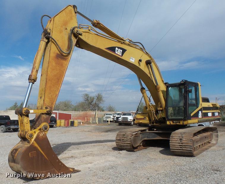 2002 Caterpillar 330BL excavator
