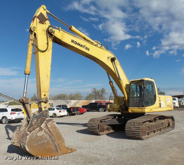2000 Komatsu PC300LC-6LE excavator