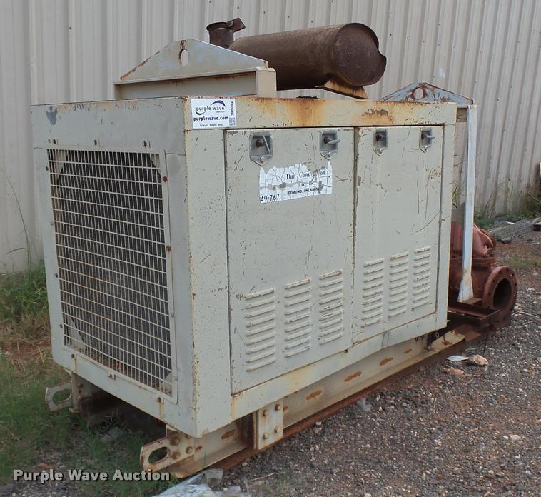 1996 Patterson pump set