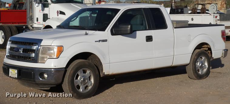 2013 Ford F150 XLT SuperCab pickup truck