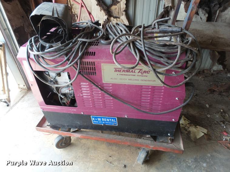 Thermal Arc AC/DC/CC/CV welder/generator